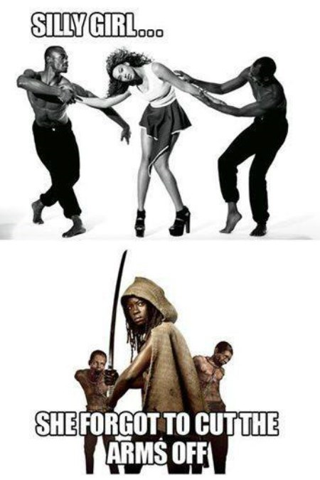 michonne beyoncé The Walking Dead amateur - 8426997248