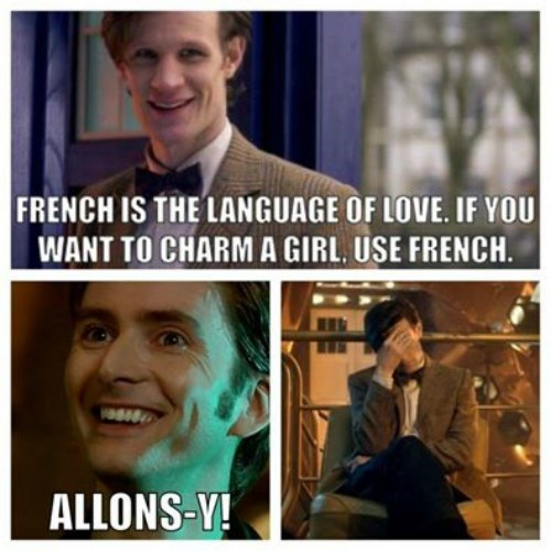 10th doctor,11th Doctor,doctor who,french