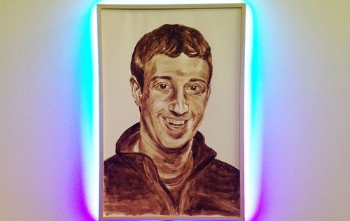 art gross design Mark Zuckerberg failbook