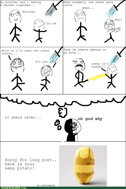memory kids brother shower oh god why peeing - 8427484416