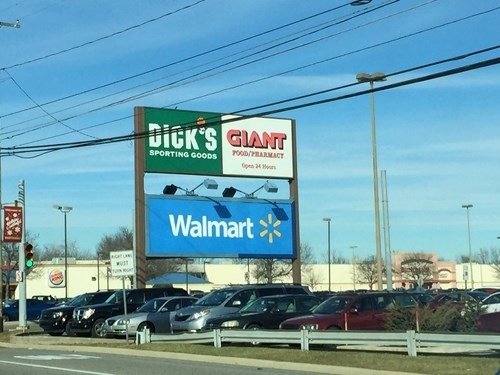 monday thru friday,sign,giant