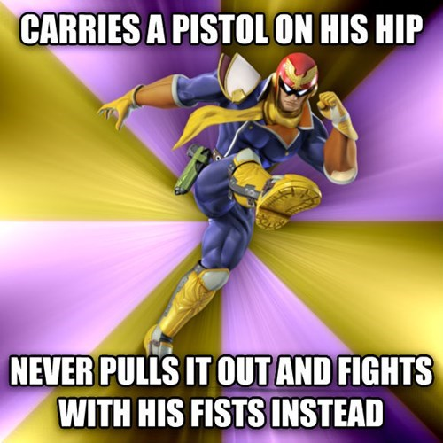 good guy captain falcon - 8427524352