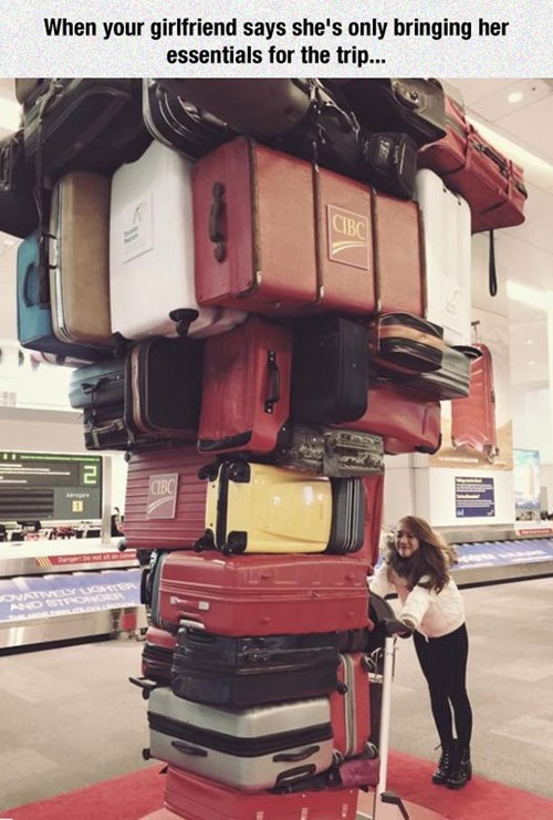 girlfriends suitcases dating vacation - 8427525376