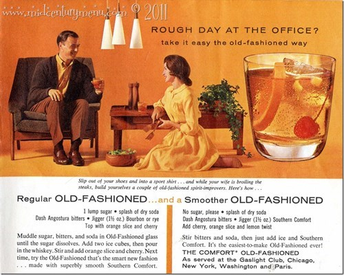 wife old fashioned funny cocktail - 8427542528