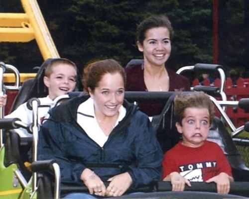 kids amusement park expression parenting roller coaster - 8427586816