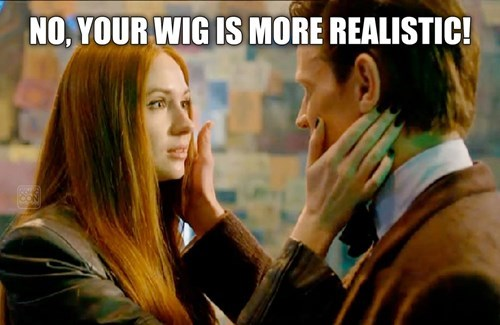 wigs 11th Doctor amy pond - 8427601920
