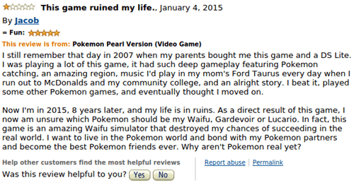 reviews,Pokémon,amazon