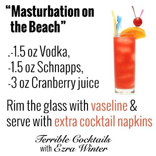 masturbation on the beach