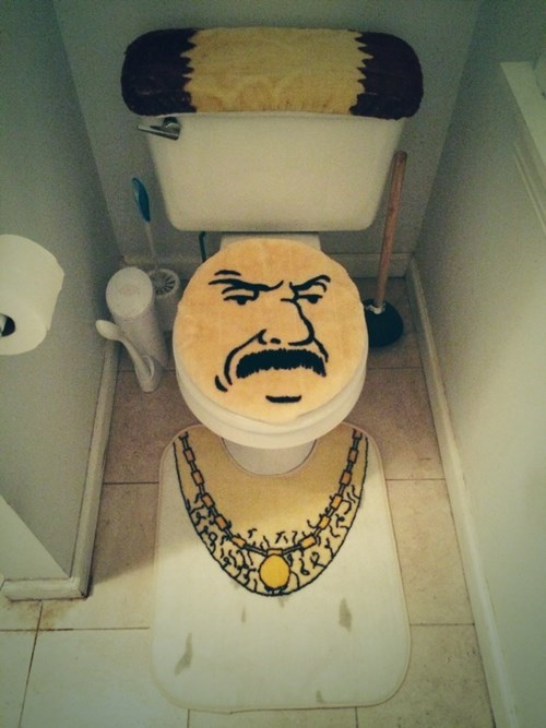 carl,aqua teen hunger force,toilet,crafts