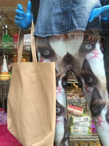 Grumpy Cat poorly dressed leggings Cats - 8427635200