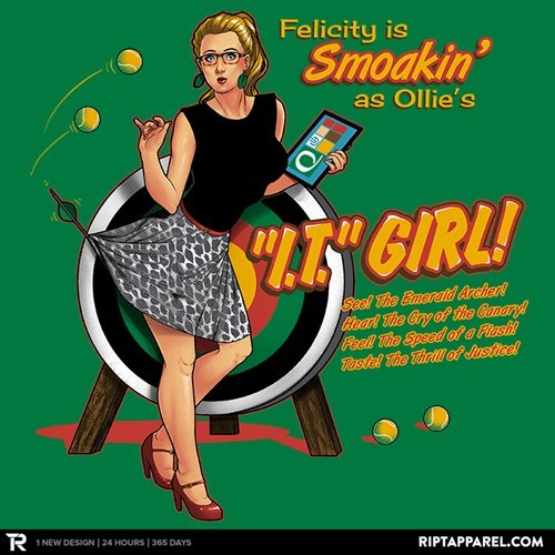 His Girl, Fri... Ummmm... Felicity