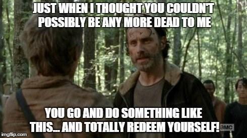 Rick Grimes Dumb and Dumber The Walking Dead - 8427641088