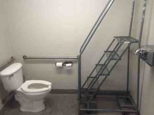 Challenge Accepted bathroom toilet - 8427702528