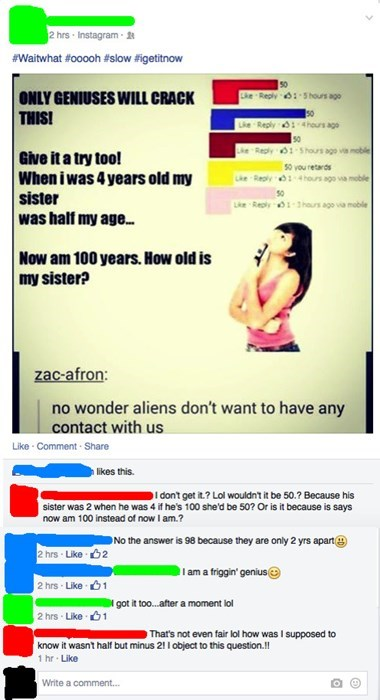 trick question facepalm math failbook g rated - 8427741184