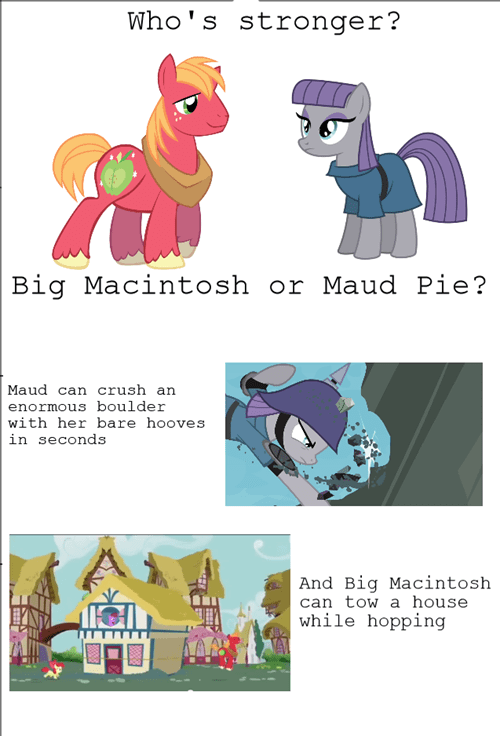 Big Macintosh contest maud pie - 8427961344