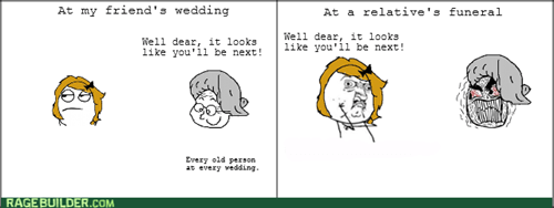 relatives,rage,funeral,wedding