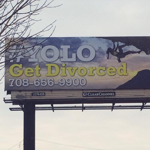 yolo,billboards,divorce