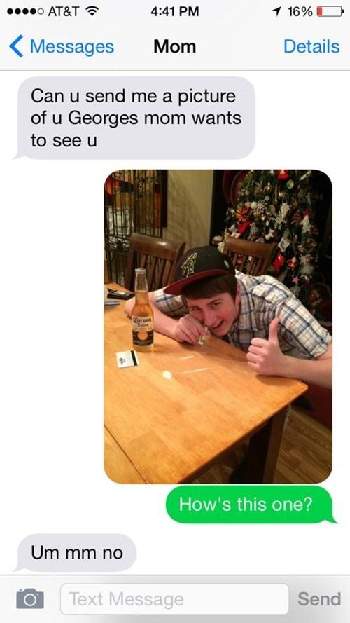 parenting selfie texting - 8428142080