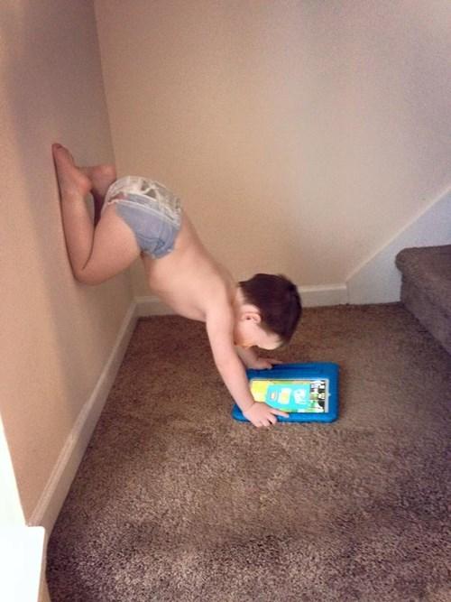 kids,parenting,handstand