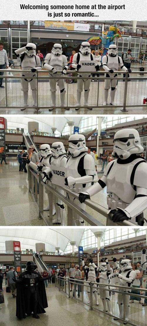 star wars stormtrooper darth vader - 8428203264