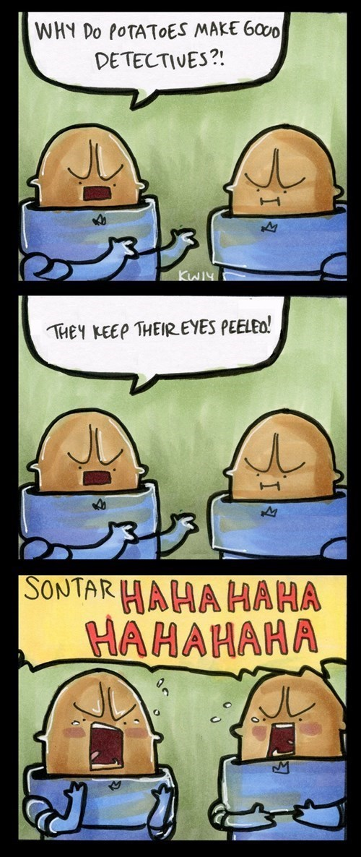 jokes potato sontaran web comics