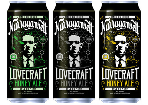 Narragansett Is Making a Series of Beers Inspired by H.P. Lovecraft