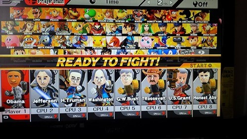 presidents,super smash bros