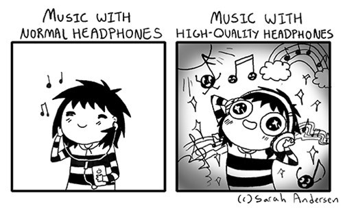 Music,sick truth,headphones,web comics