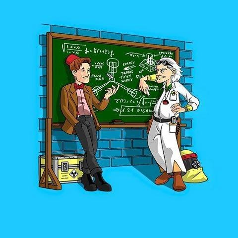 back to the future tshirts for sale 11th Doctor - 8428366592