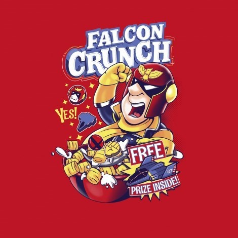 captain crunch tshirts for sale captain falcon - 8428436480