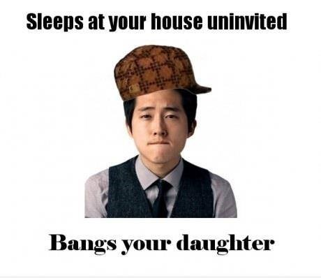 scumbag Glenn Rhee The Walking Dead - 8428462336