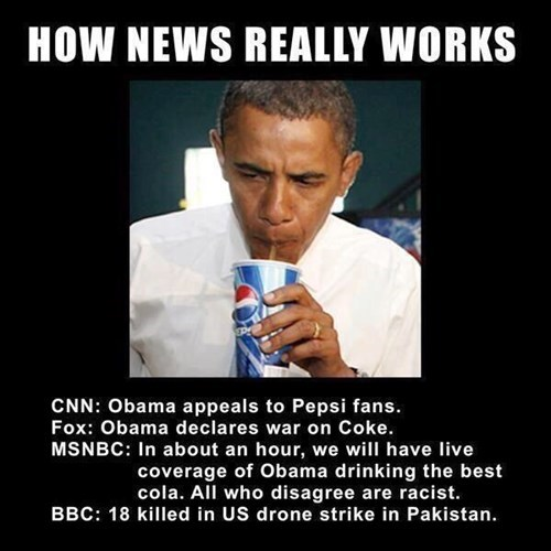 news pepsi obama coke funny - 8429602560