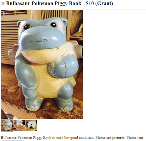 Pokémon blastoise bulbasaur - 8430143744