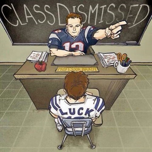 patriots vs colts brady taught a master class