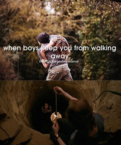 boys keep you from walking away