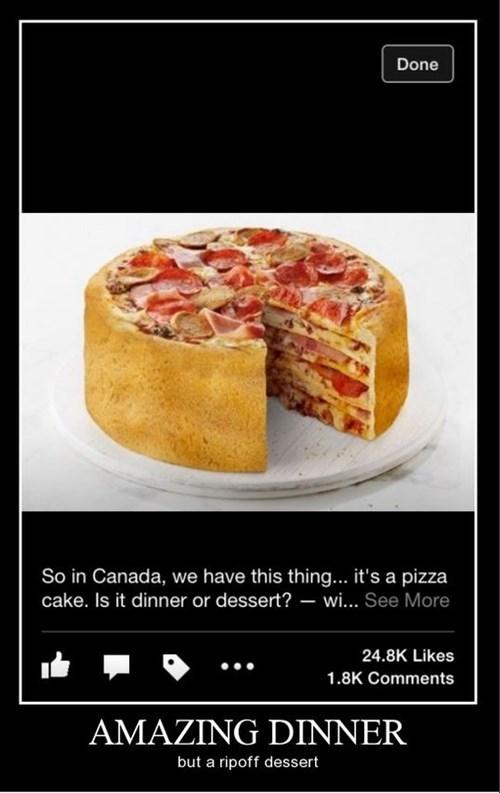 Canada pizza dessert funny - 8430477312