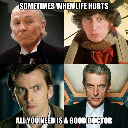 classic who the doctor 10th doctor 12th Doctor - 8430504192