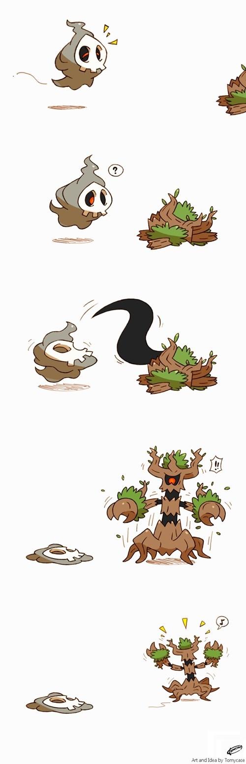 duskull Fan Art Pokémon trevenant - 8430529792