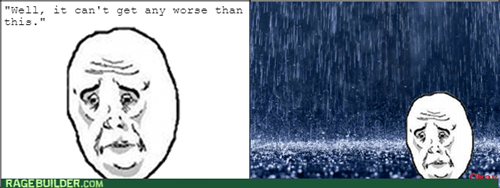 Okay,rain