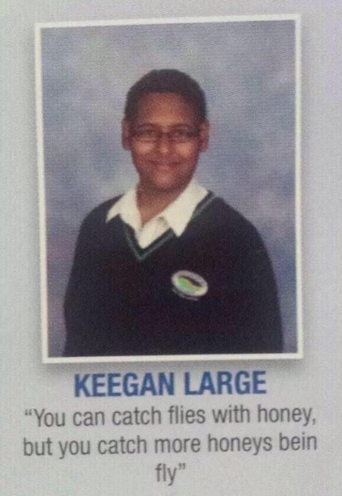 talking about being fly for yearbook quote