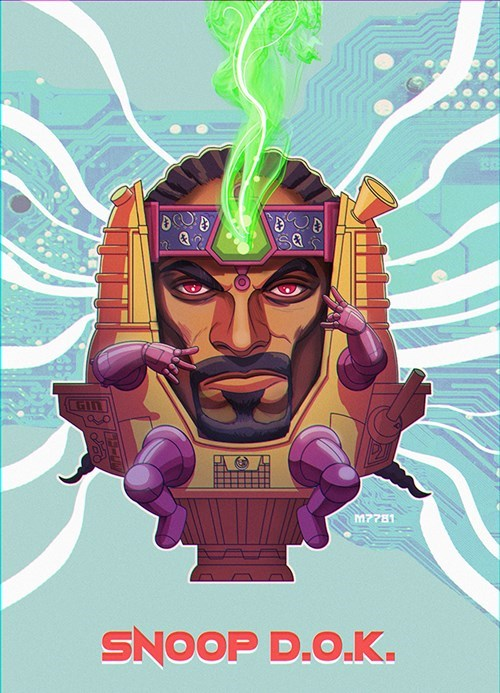 Fan Art modok snoop dogg - 8430961920