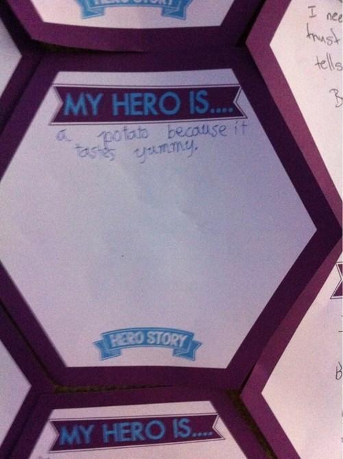 hero kids potato parenting - 8430971136