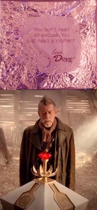 candy gallifrey 50th anniversary war doctor - 8431106304