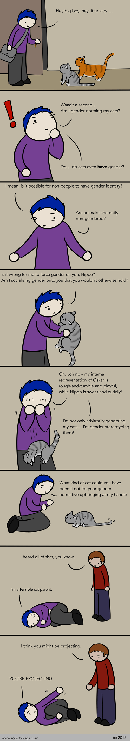 gender pets parenting web comics false binaries