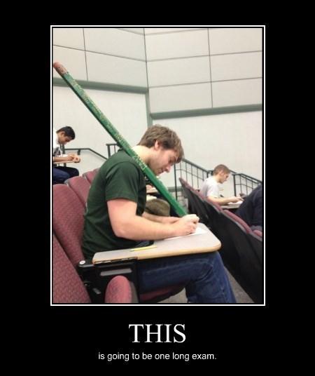 pencil exam huge funny - 8431367168