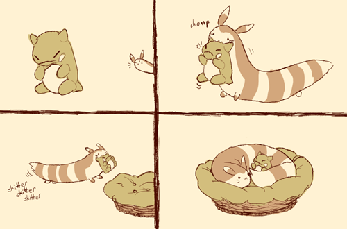 pickup,furret,substitute