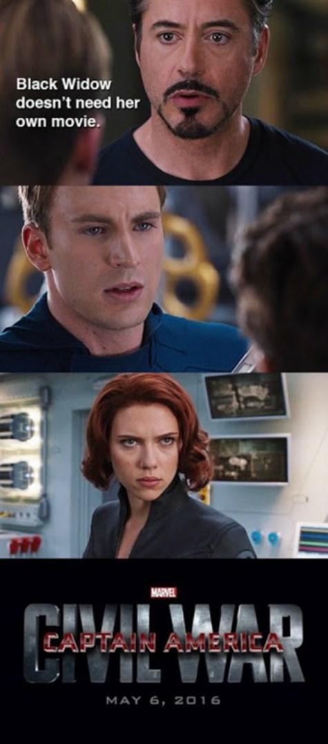 marvel Black Widow civil war mcu - 8431736576
