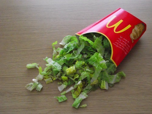 McDonald's fries food