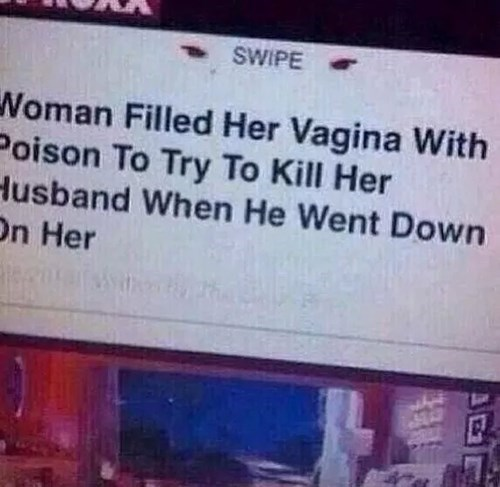 woman tries to poison her husband