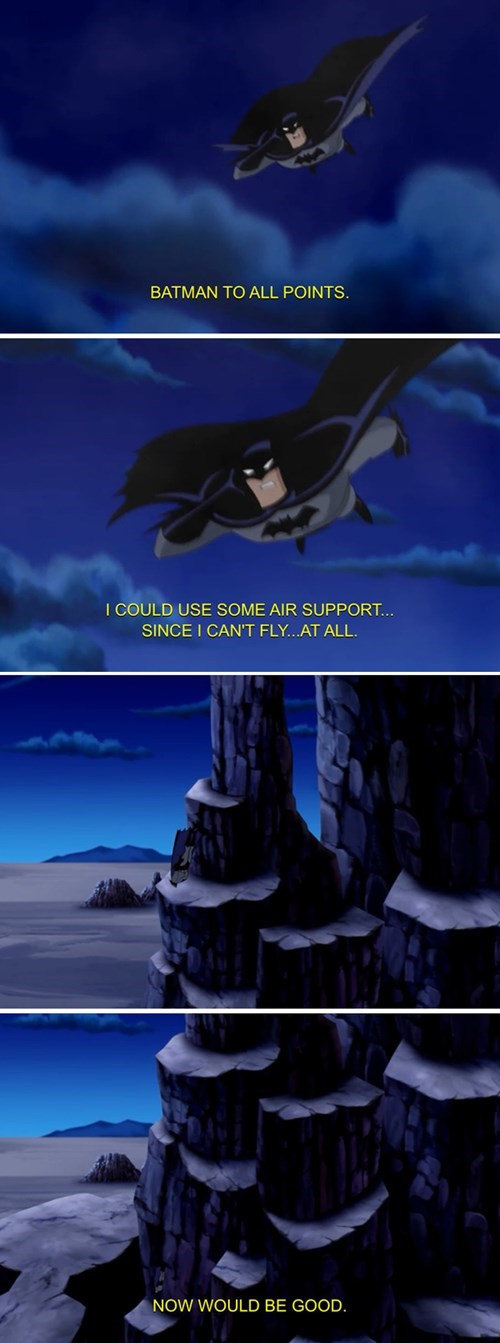falling batman support flying - 8431804160